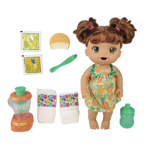 Baby Alive淘氣寶貝 神奇料理機娃娃 棕髮
