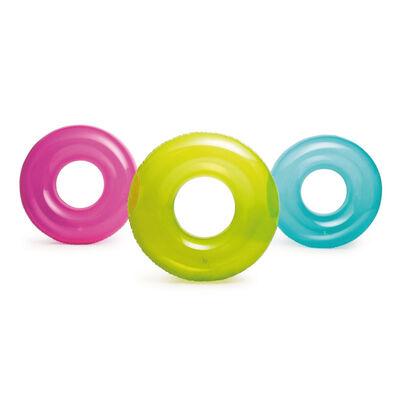 Intex 彩色泳圈(綠、藍、粉)(76公分)