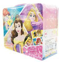 Disney Princess迪士尼公主手提鐵盒拼圖(款式2)