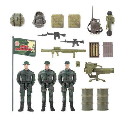 World Peacekeepers 軍事人物組(3人) - 隨機發貨