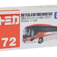 Tomica多美 No﹒72 Hino Cerega Jr Bath Tohoku Komachi Color