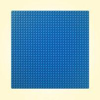 LEGO 樂高藍色底板 10714