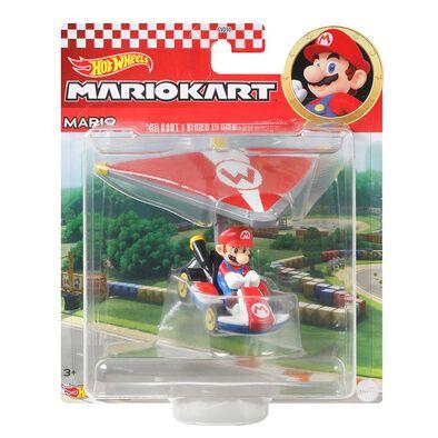 Hot Wheels風火輪 Mario Kart滑翔翼組合合金車系列 - 隨機發貨