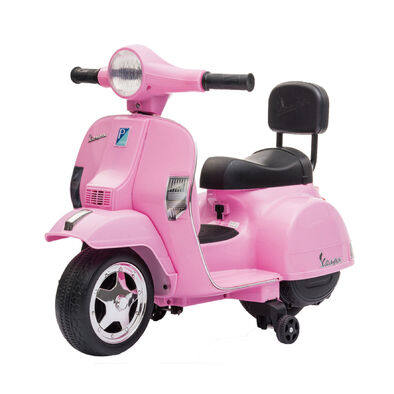 LUNG TZUAN Vespa PX150 迷你偉士牌兒童電動機車 粉紅