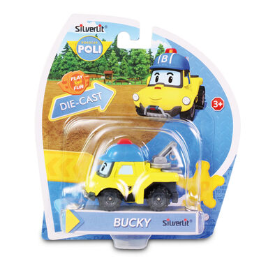Robocar Poli波力救援小英雄 合金車系列 巴奇