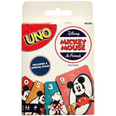 Uno迪士尼米奇與朋友 遊戲卡