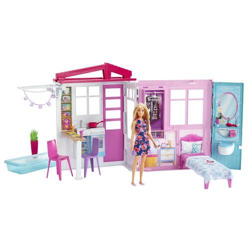 Barbie芭比小屋(附娃娃)