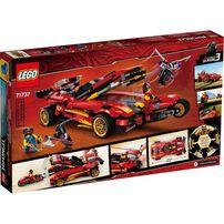LEGO樂高 71737 X-1 忍者電極跑車