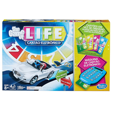 Hasbro Gaming孩之寶遊戲 生命之旅教育遊戲組-電子銀行版