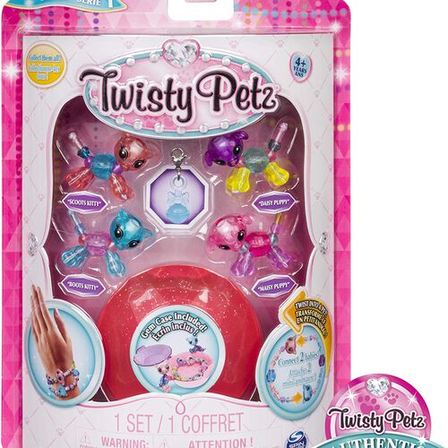 Twisty Petz寵物扭扭手鍊 - 迷你寶貝四入組