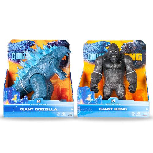 Godzilla vs. Kong哥吉拉大戰金剛 11吋經典公仔- 隨機發貨