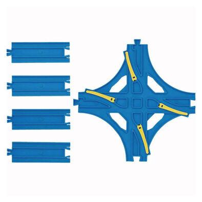 Plarail R-14 交叉換軌轉轍器