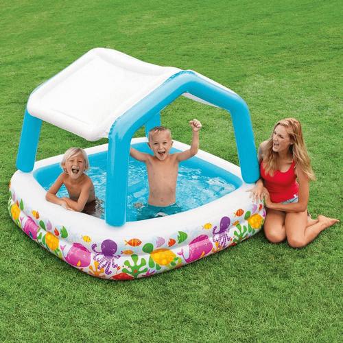 Intex 可拆式遮陽泳池