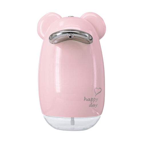 VisionKids 熊熊造型全自動感應皂液機 粉紅