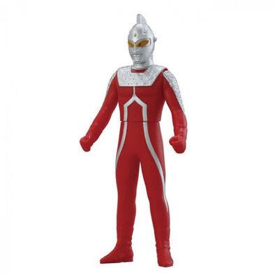 Ultraman超人力霸王 500系列軟膠 #02 超人七號