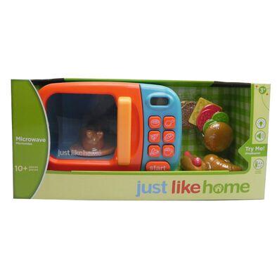 Just Like Home 微波爐玩具-藍