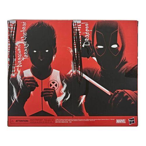 Marvel漫威legends 系列 X戰警-死侍和青少女彈頭