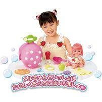 Mell Chan小美樂 洗澡草莓屋