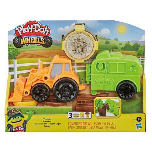 Play-Doh培樂多 車輪系列 小馬拖拉機