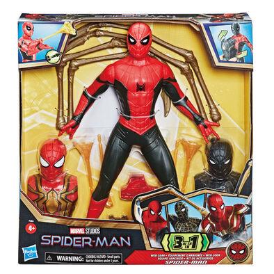 Marvel漫威蜘蛛人3電影13吋蜘蛛人物+配件發射器組
