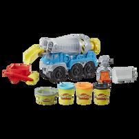 Play-Doh培樂多車輪系列 水泥車遊戲組