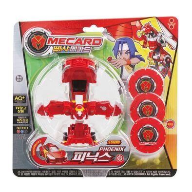 Turning Mecard魔車戰魂 百變Mecard 鳳凰神兵
