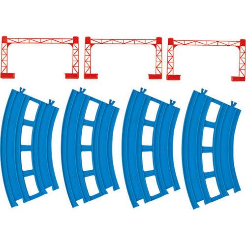 Plarail鐵道王國 R-05複線曲軌