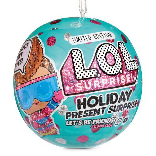 L.O.L. Surprise!驚喜寶貝蛋驚喜假節寶貝蛋 - 隨機發貨