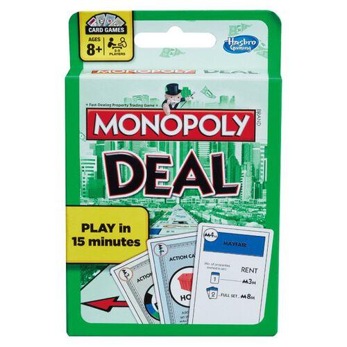 Monopoly地產大亨紙牌交易遊戲基本版