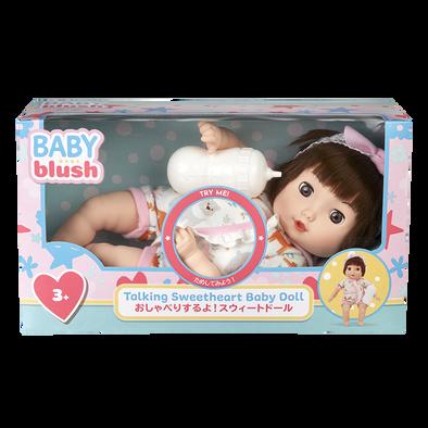 Baby Blush 黑髮細語甜心有聲娃娃