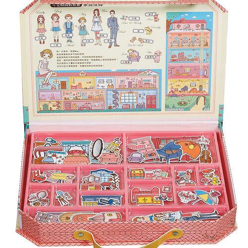 可愛時尚的磁鐵娃娃屋*新版*