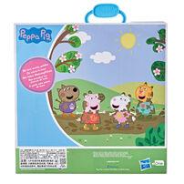 Peppa Pig粉紅豬小妹 4入公仔旅行盒
