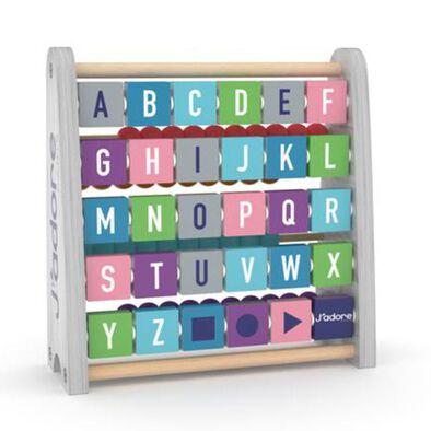 J'adore雙面啟蒙字母珠算組