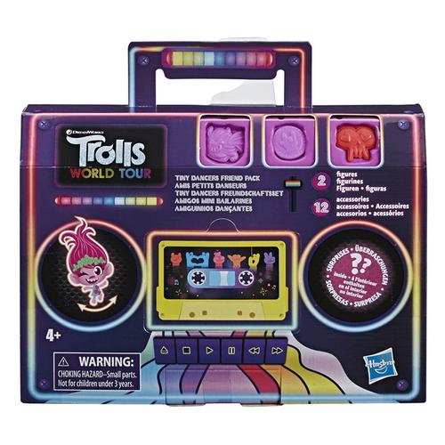 Trolls魔髮精靈 唱遊世界 小小舞者人物/配件組 - 隨機發貨