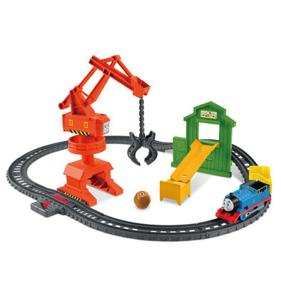 Thomas & Friends湯瑪士小火車電動 工程軌道組