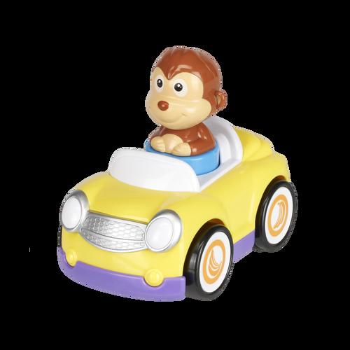 Top Tots天才萌寶 寶寶推壓猴子小車