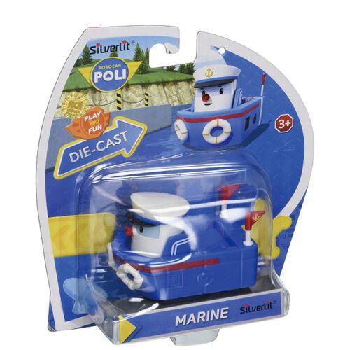 Robocar Poli波力救援小英雄合金車系列 MARINE