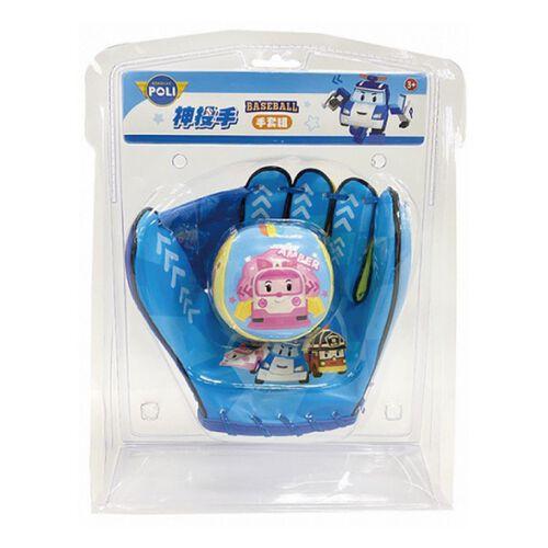 Robocar Poli波力救援小英雄波力神投手手套組