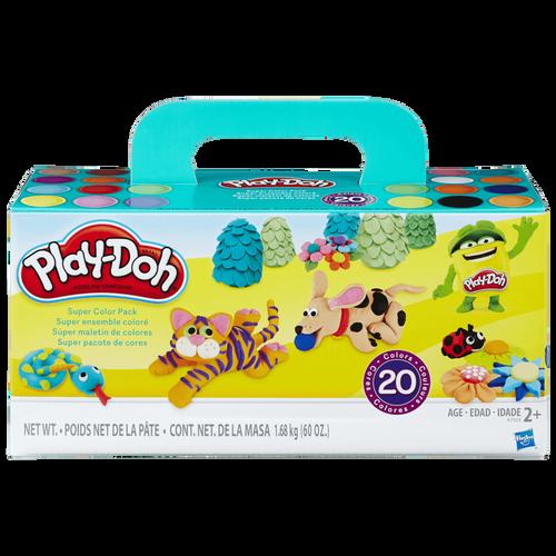 Play-Doh培樂多 繽紛20色黏土組