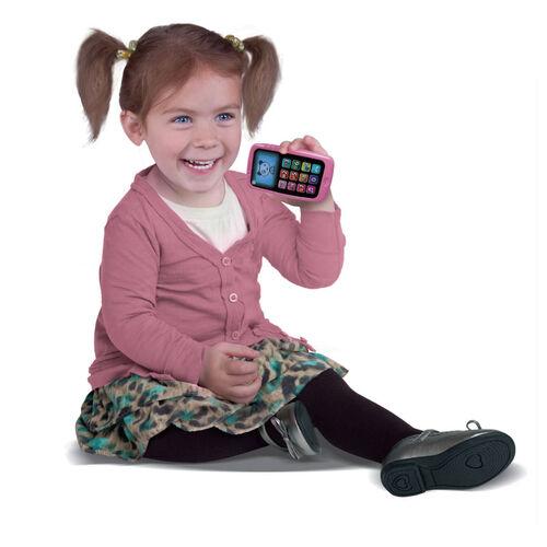 LeapFrog炫光智慧小手機(粉紫)