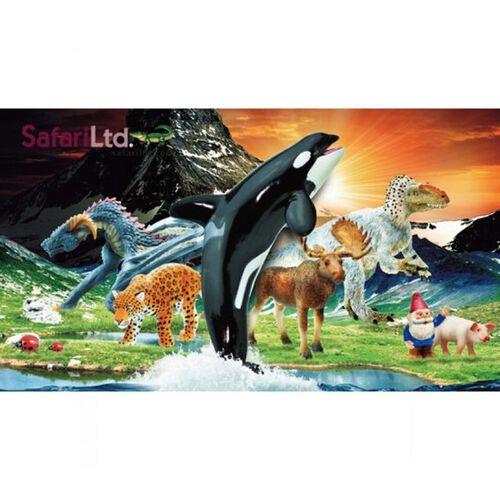 Geoworld石尚 Safari Ltd 雙冠龍