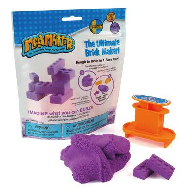 瑞典 Mad Mattr瘋狂博士mm沙 小積木方塊包-紫