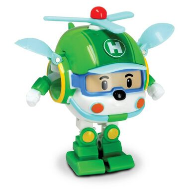 Robocar Poli波力救援小英雄 迷你變形赫利