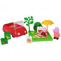 Peppa Pig粉紅豬小妹 PEPPA PIG 積木系列-野餐趣