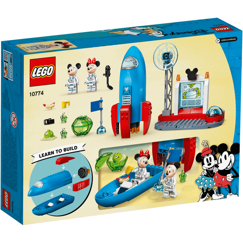 Lego樂高 10774 Mickey Mouse & Minnie Mouse's Space Rocket