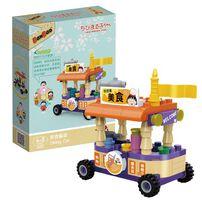 Banbao邦寶 櫻桃小丸子積木系列-美食餐車