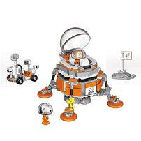 Banbao邦寶 史努比70周年太空系列-太空飛船 LN8014