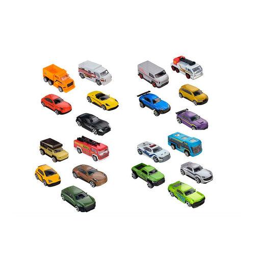 Fast Lane極速快線10入合金車組 - 隨機發貨