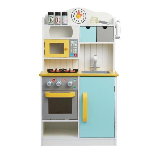Teamson 小廚師佛羅倫斯木製廚房玩具 - 隨機發貨