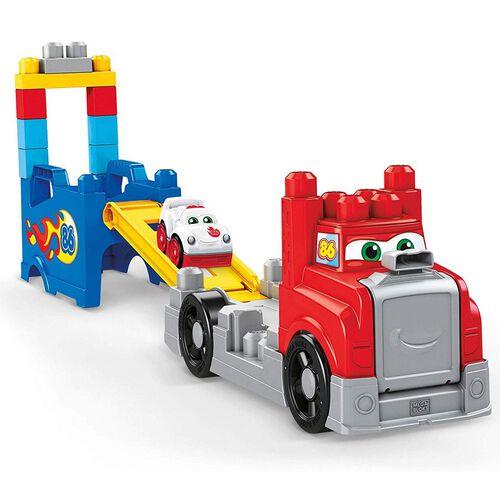 Mega Bloks美高積木大大積木賽車場組